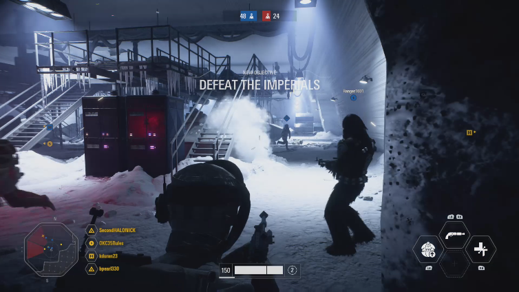 SecondHALONICK playing Star Wars Battlefront II