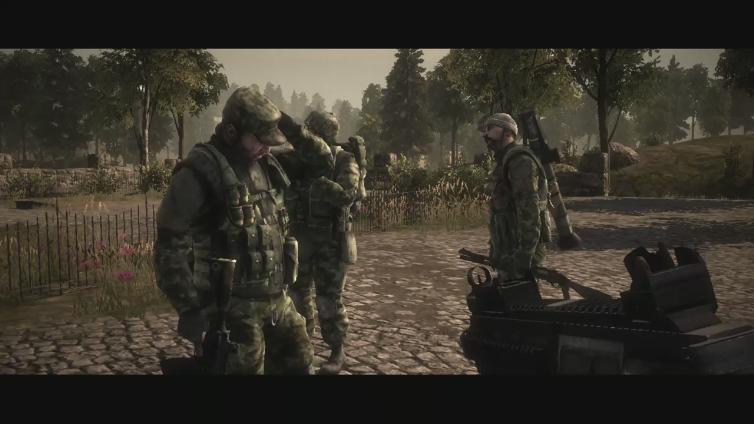 Jar Jar Dett playing Battlefield: Bad Company